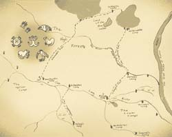 map from the red earth sky
