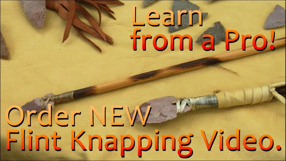 Learn Flint Knapping Online - How to Video